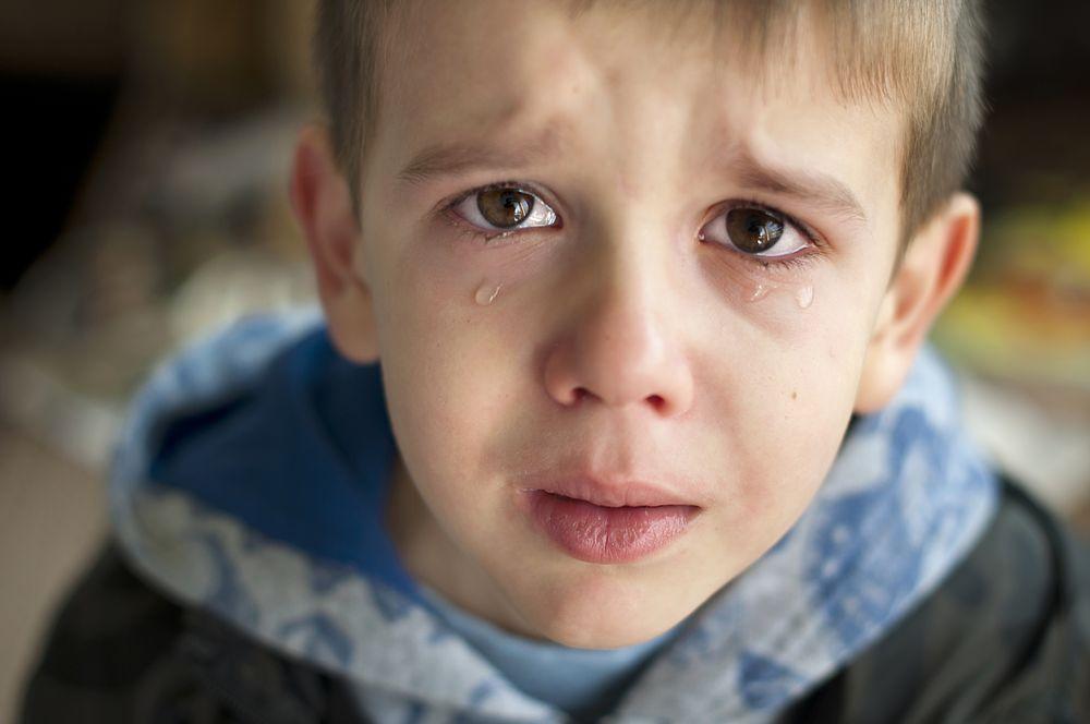 rozpacz dziecka