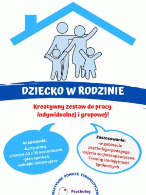 Zestaw terapeutyczny Dziecko w Rodzinie